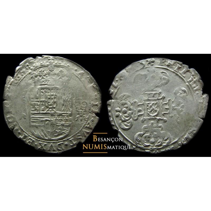 BOURGOGNE - PHILIPPE IV D'ESPAGNE - DOLE - SEIZIEME DE PATAGON- CMR 5.1.8 - 1623 - FLAN LARGE