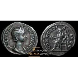 monnaie romaine d'ORBIANA, denier,  CONCORDIA AVGG