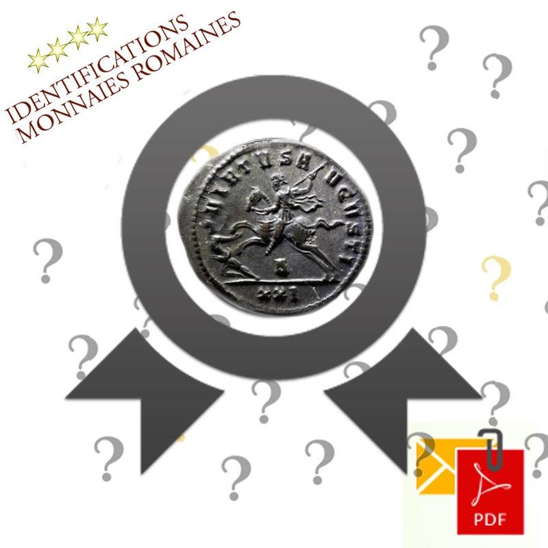 Identification monnaies romaines