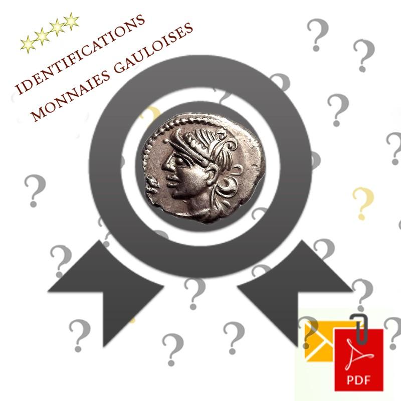 Identification monnaies gauloises