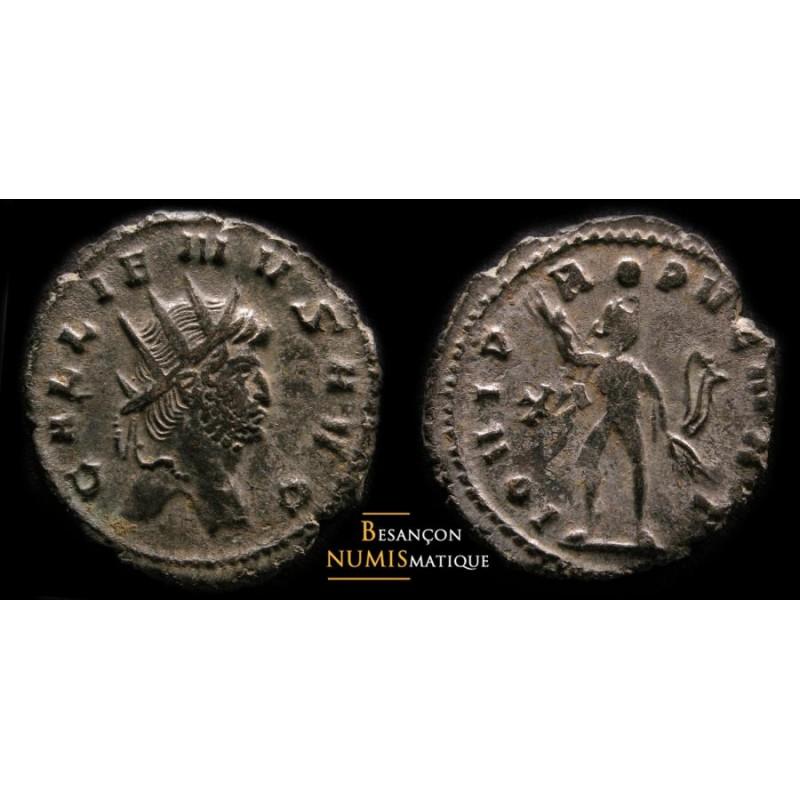 GALLIEN - ROME - IOVI P/ROPVGNAT XI/-  CMR 8a11a- MIR 641a
