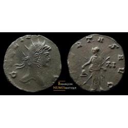 monnaie romaine de GALLIEN avec libertas au revers