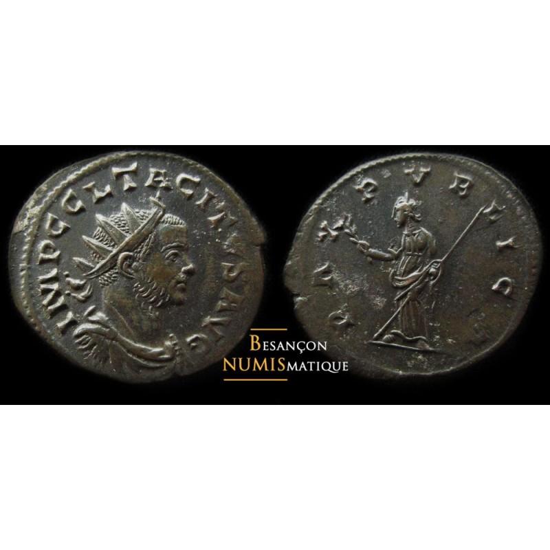 monnaie romaine de TACITE frappée à LYON, PAX PVBLICA