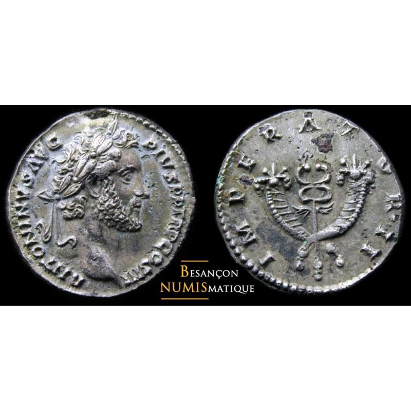monnaie romaine fourrée, ANTONIN LE PIEUX , ROME