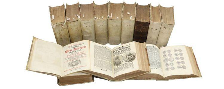 La bibliothèque de la boutique numismatique Bnumis