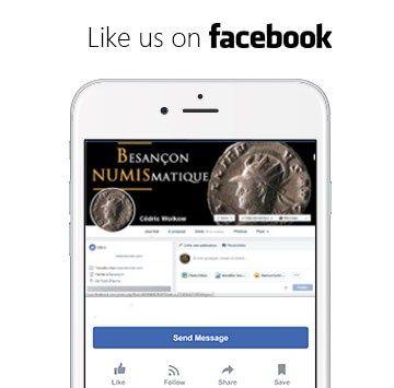 besançon numismatique page facebook