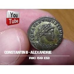 CONSTANTIN II - ALEXANDRIE...