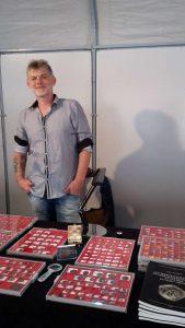 cedric wolkow de l'entreprise Bnumis, besancon numismatique