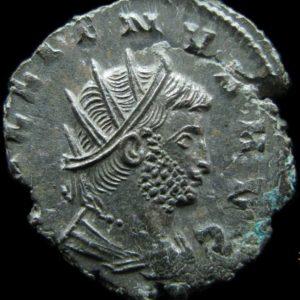 Gallien, buste T (fr-A2 / inter D2) stock Bnumis