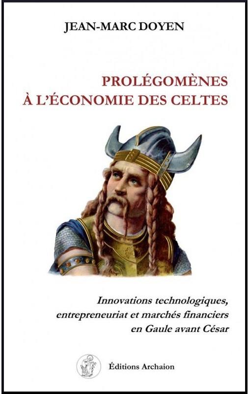 La couverture de Prolegomenes a l'economie des Celtes