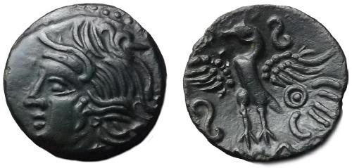 Photographier ses monnaies - bronze CALIAGIID après traitement