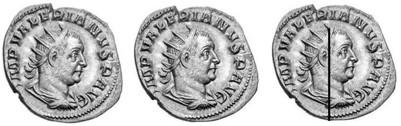 Orientation des portraits romains