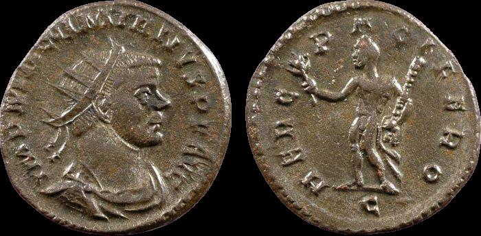 Antoninien de MAXIMIEN au revers HERC PACIFERO