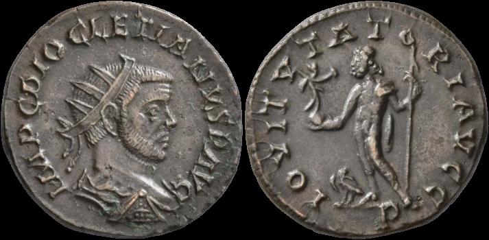 Antoninien de DIOCLETIEN au revers IOVI VTATORI